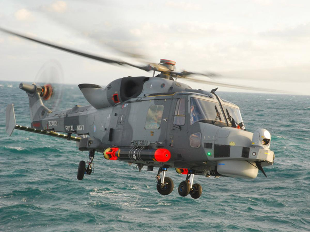 The Lynx Wildcat (AW 159) completes 20 days of sea trials aboard the frigate HMS Iron Duke (Images: Ministry of Defence)
