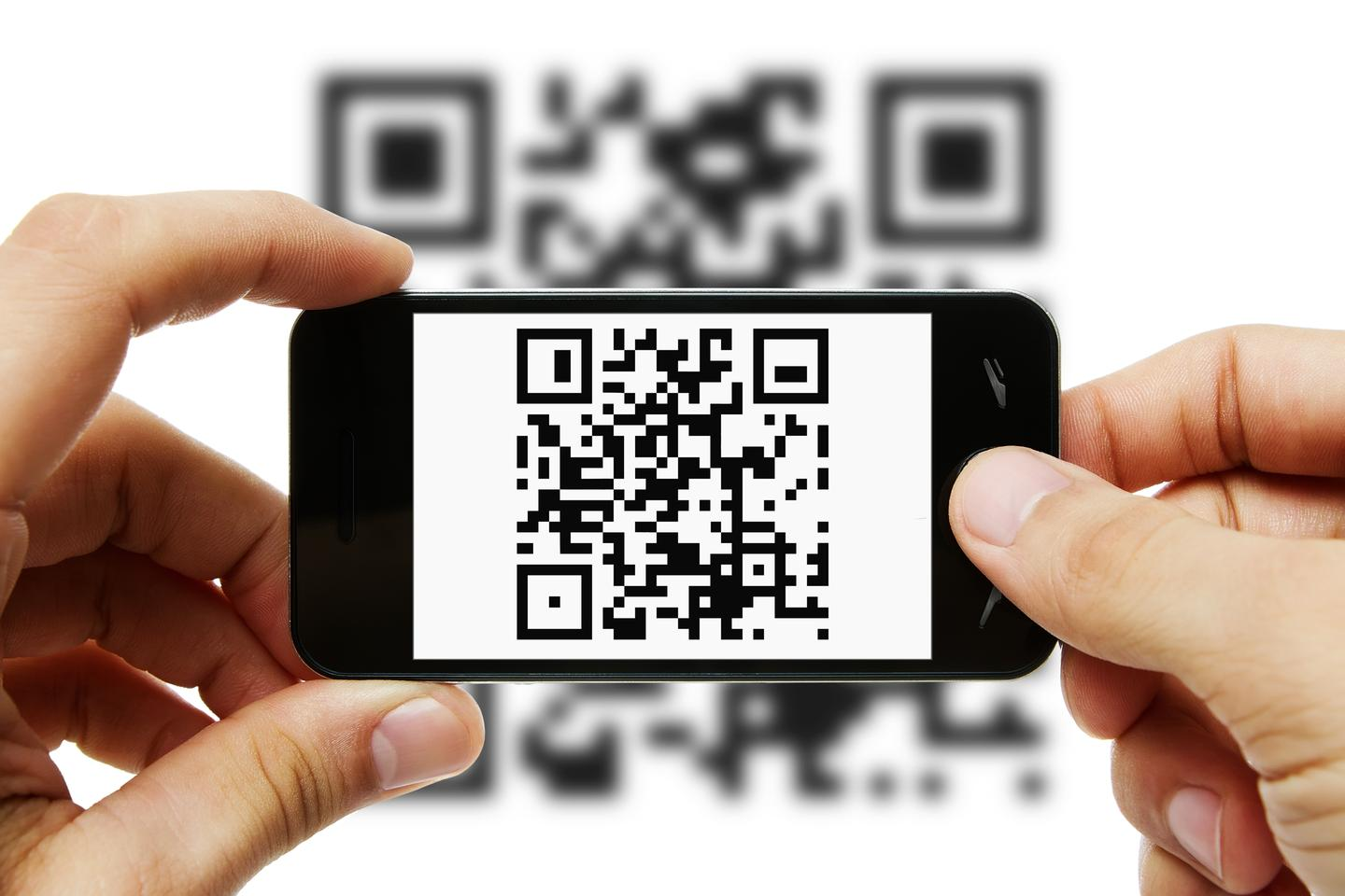 Using a smartphone, users could scan QR codes to see encrypted 3D images (Photo: Shutterstock)