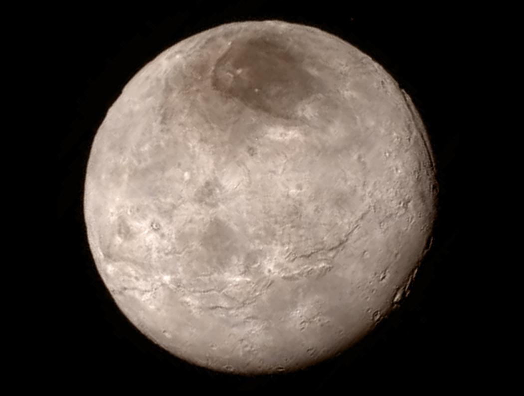 When Charon is positioned between the Sun and Pluto, Georgia Tech research indicates that the moon can significantly reduce atmospheric loss