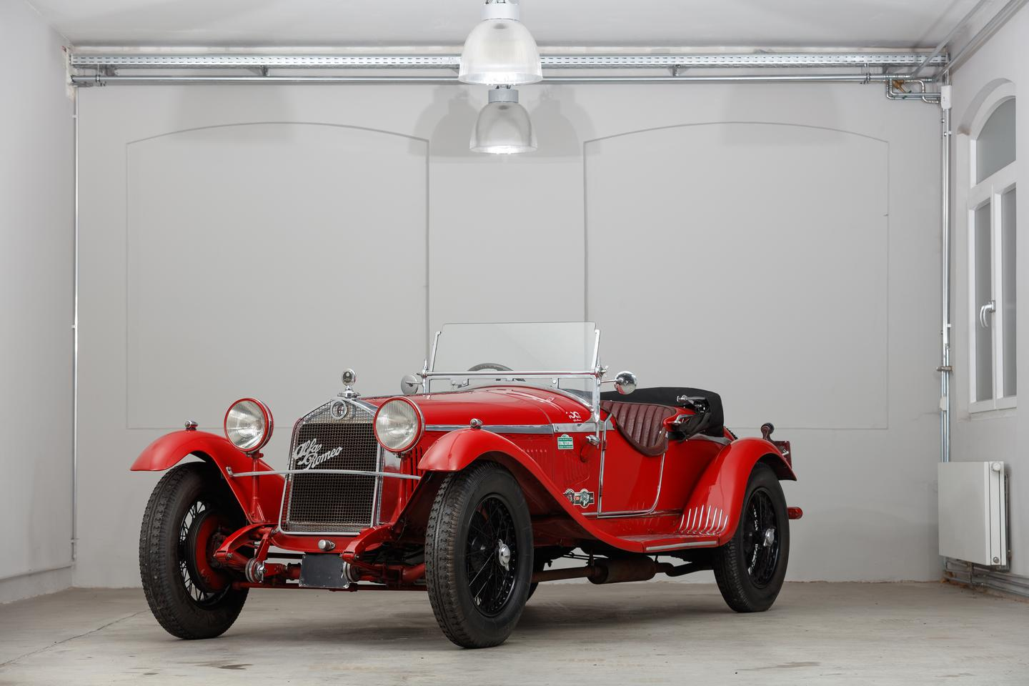 1930 Alfa Romeo 6C 1750 Gran Sport Spider in the Style of Zagato