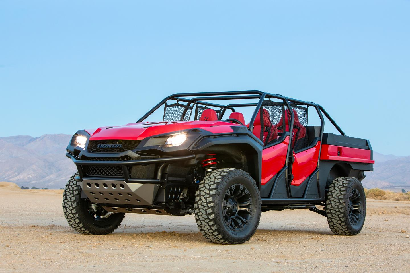 Honda has debuted the Rugged Open Air Vehicle concept at SEMA 2018