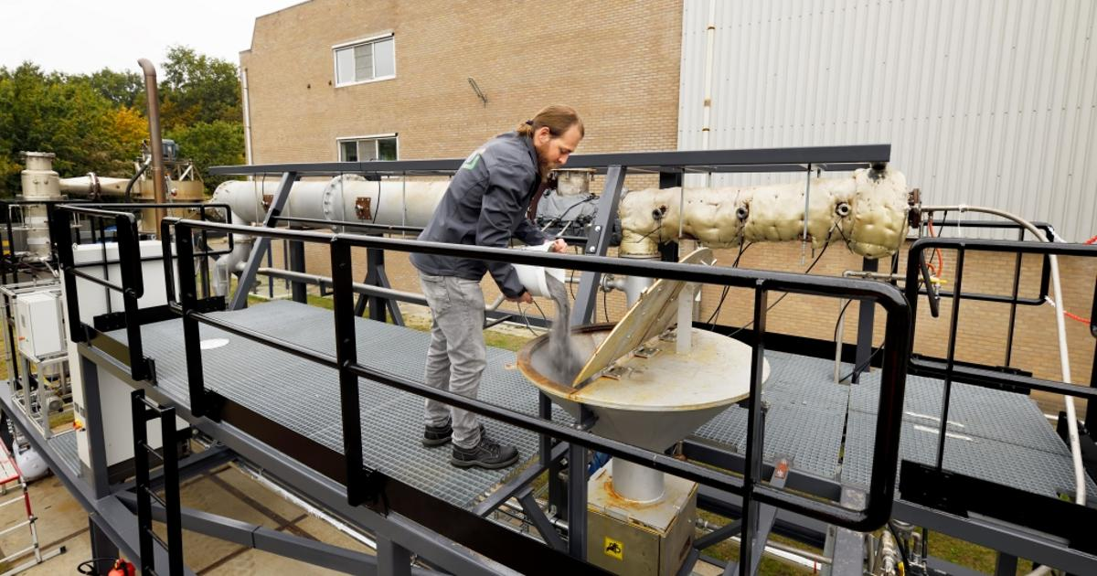 World first: Dutch brewery burns iron as a clean, recyclable fuel
