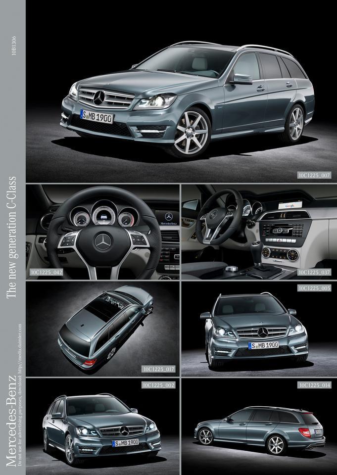 Mercedes-Benz 2011 C-Class estate, C 350 CDI 4MATIC