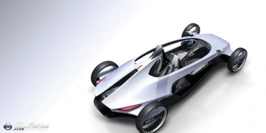 Air time, a Volvo concept that runs on compressed air