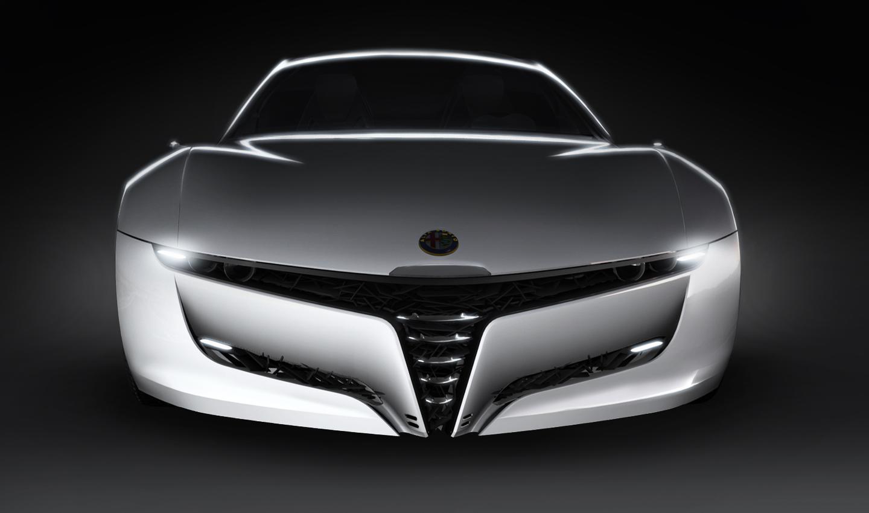 Bertone designed Alfa Romeo Pandion