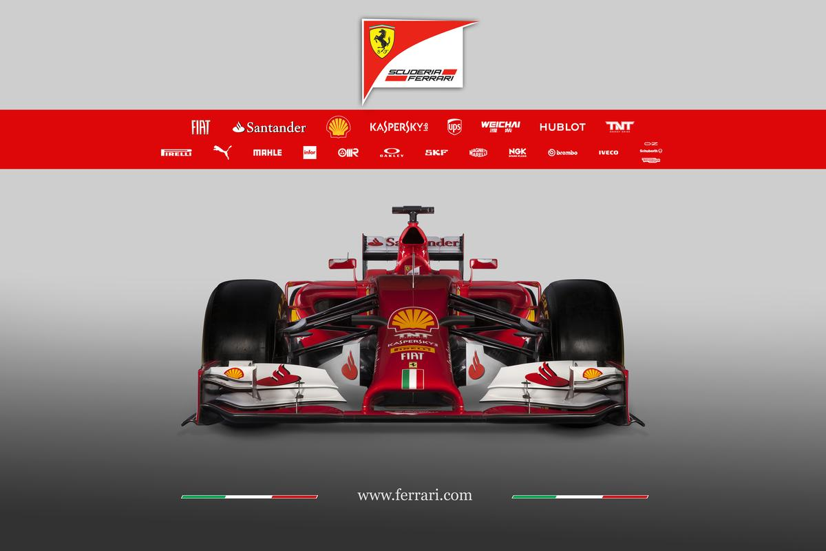 The front wings on the Ferrari F14-T had to come in 75 mm each side to meet new requirements