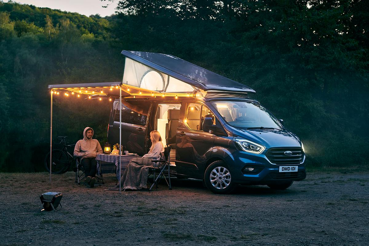The all-new Ford Transit Custom Nugget Plus camper van