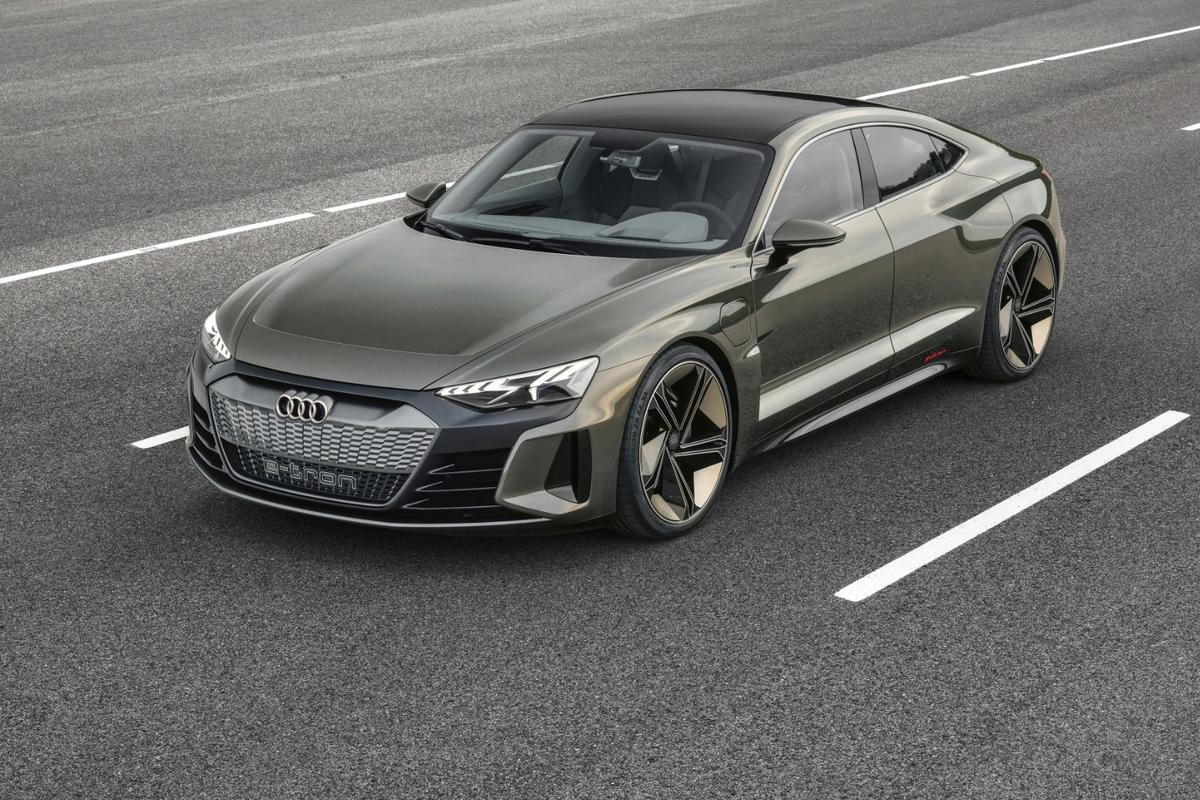 Audi e-tron GT:a 590-horsepower electricquattro