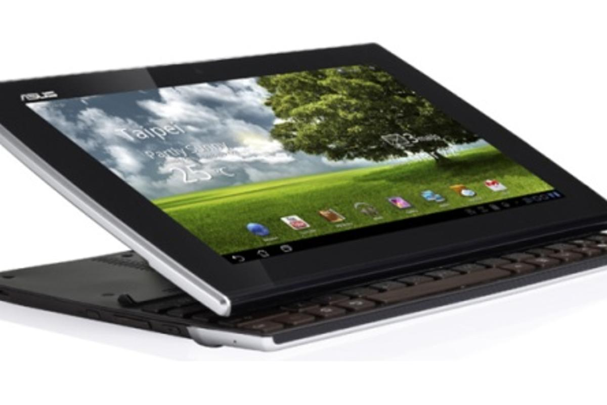 The ASUS Eee Pad Slider is a unique combination of tablet and notebook, featuring a sliding QWERTY keyboard