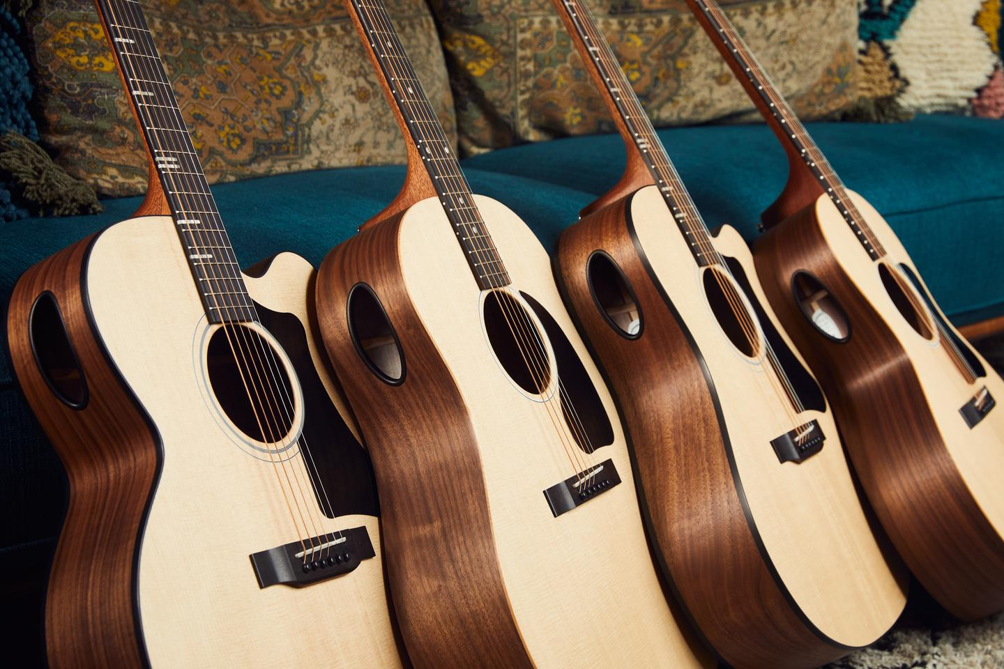 The Generation Collection of acoustic guitars featuring the Gibson Player Port is made up of four models