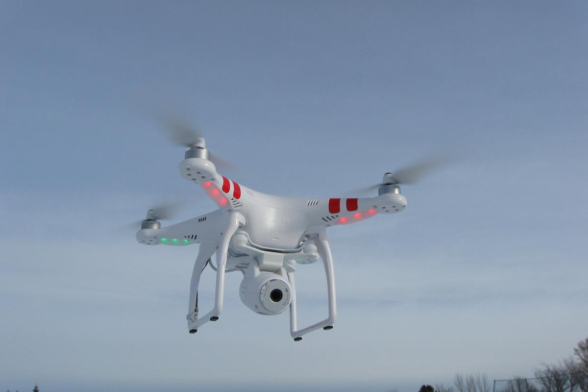 Gizmag takes a turn behind the joysticks of DJI's new Phantom 2 Vision quadcopter