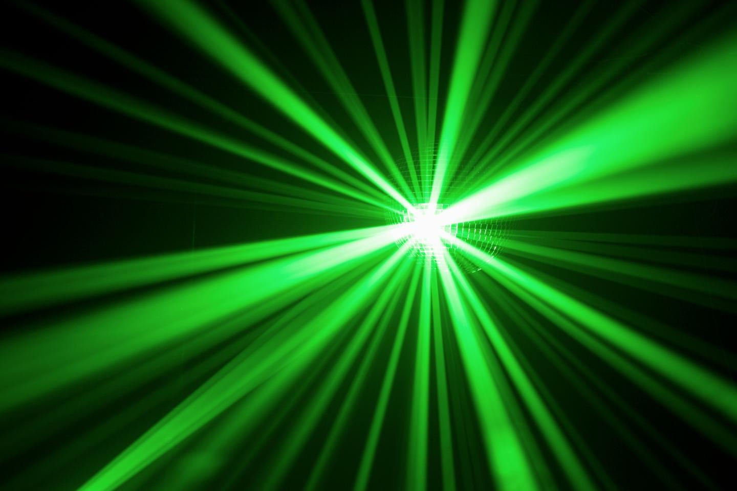 Green lasers present a way to test the soundness of materials without destroying them