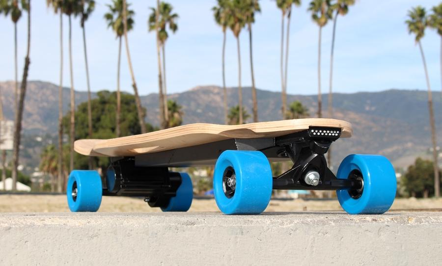 The ZBoard 2 is a new version of the ZBoard electric skateboard