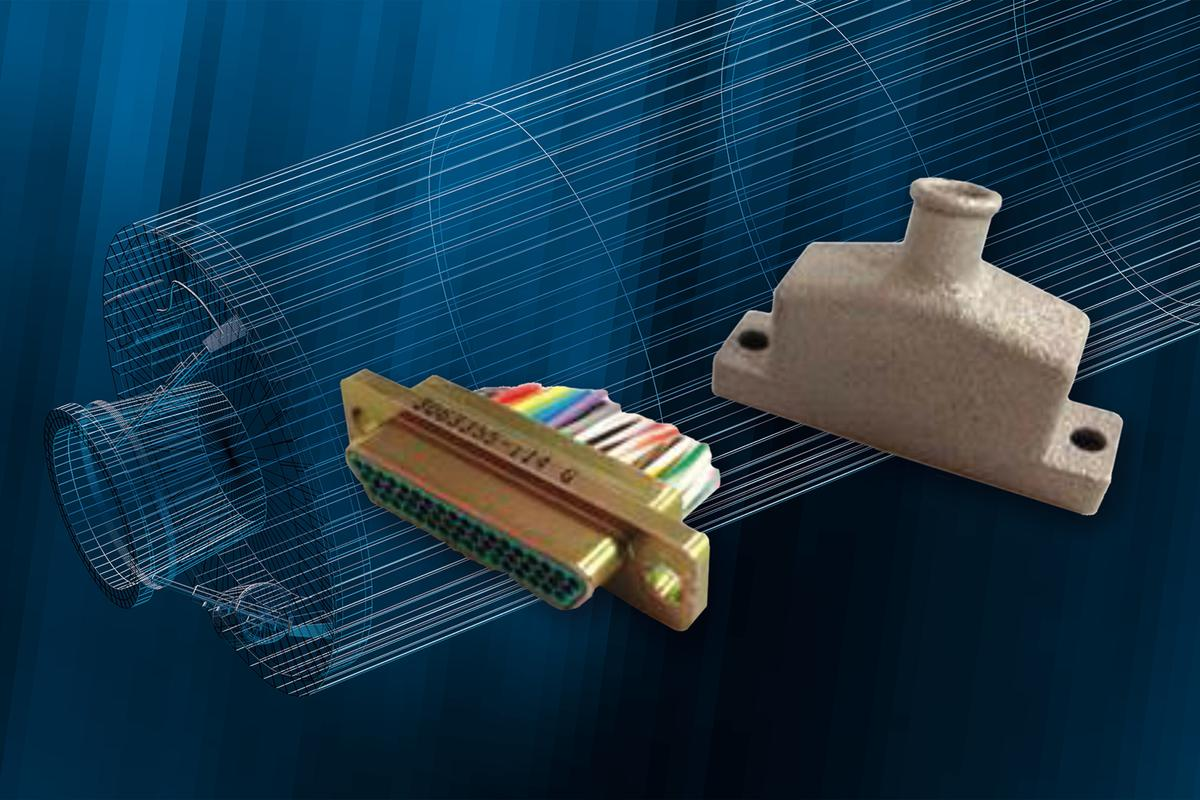 A 3-D-printed connector backshell flew in a Trident II D5 fleet ballistic missile test flight on March 16