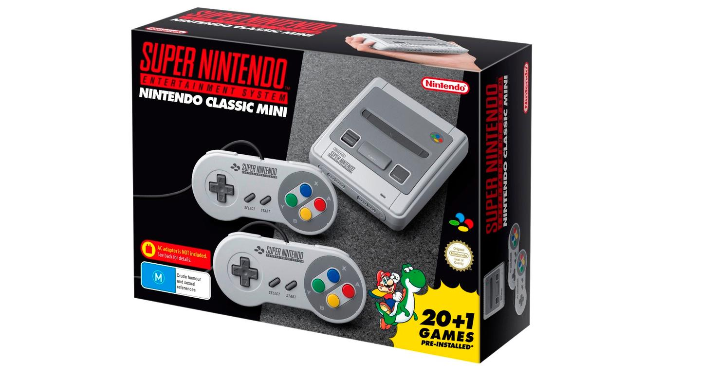 The SNES Classic Edition comes preloaded with 21 games, including Mario, Donkey Kong, Zelda, Kirby and the never-before-released Star Fox 2