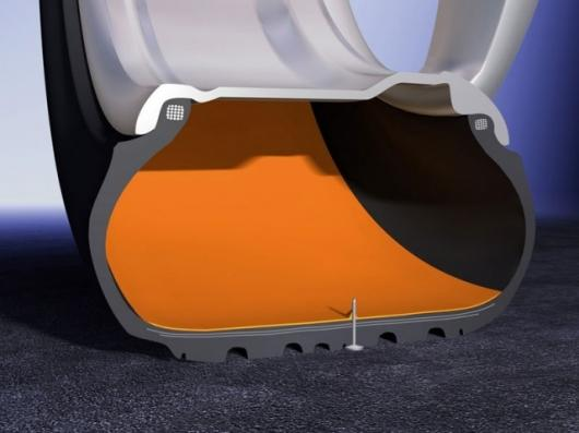 Continental's self-sealing tyres