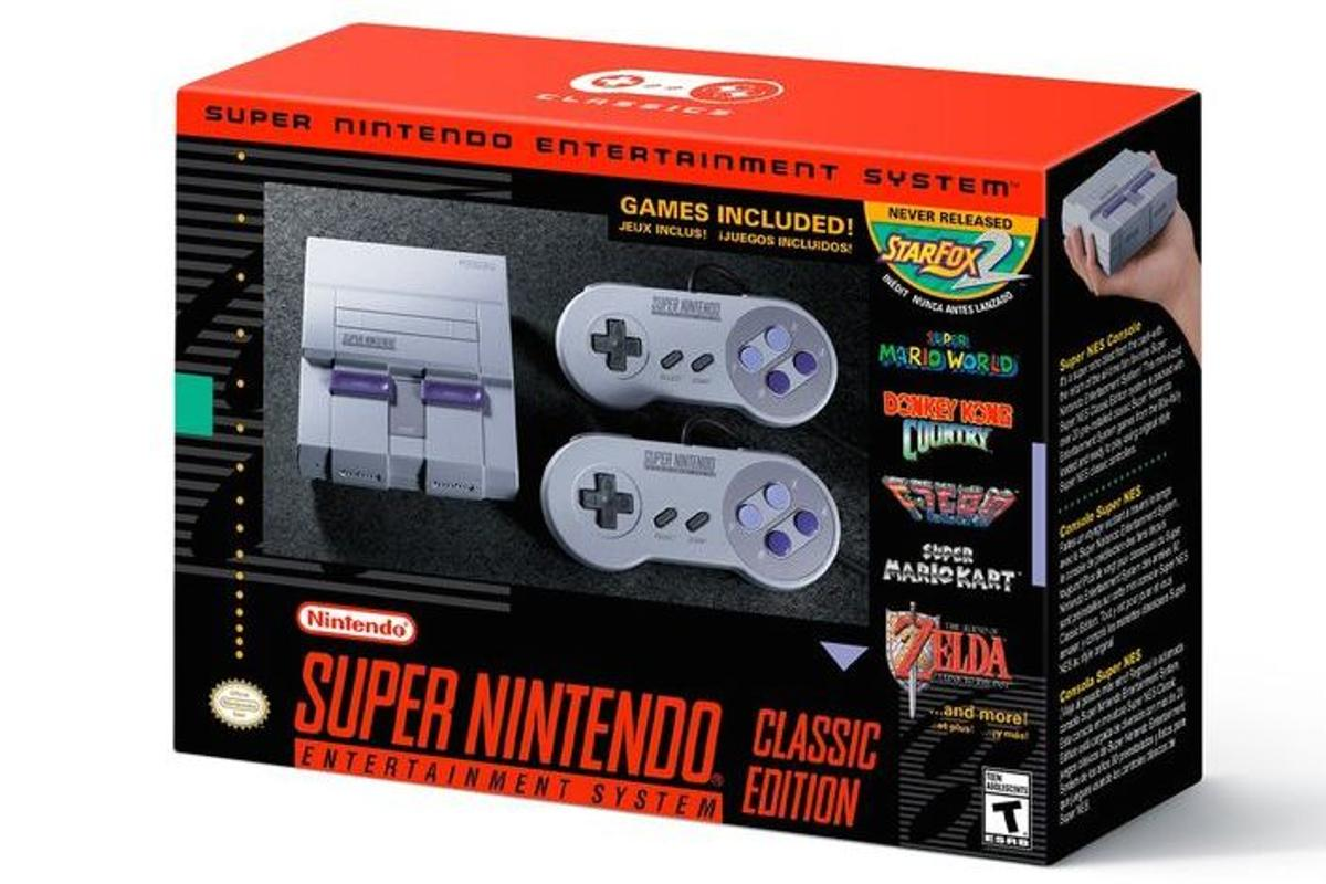 Nintendo has announced the Super NES Classic Edition, a rerelease of the popular 16-bit console from the early 1990s
