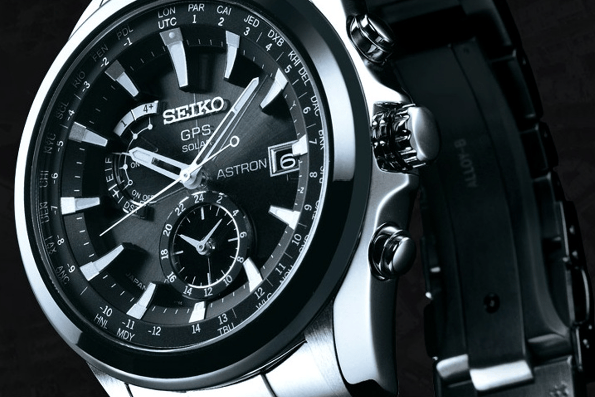 The Seiko Astron is the first solar-powered watch that can set itself using GPS technology (Photo: Seiko)