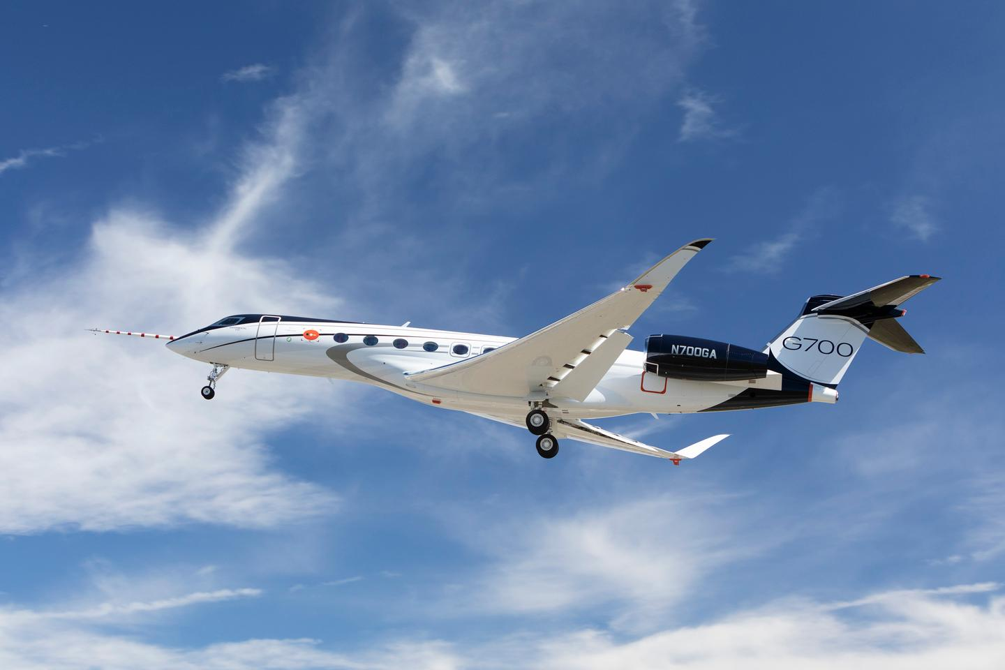 The G700 is powered by two Rolls-Royce Pearl 700 engines