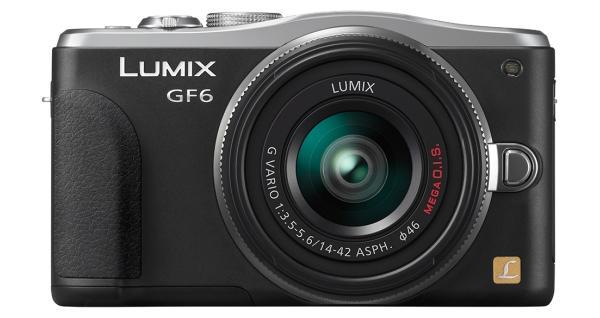 The Panasonic DMC-GF6 boasts a 16-megapixel Micro Four Thirds (17.3 x 13 mm) Live MOS sensor