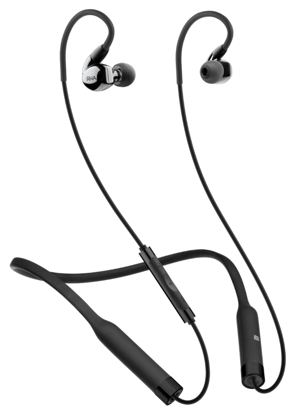 The CL2 Planar in-ear headphones come supplied with a modified version of RHA's SecureFlex Bluetooth neckband