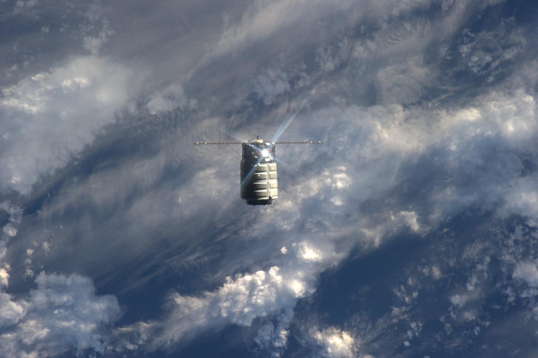 Cygnus approaching the ISS (Image: NASA)