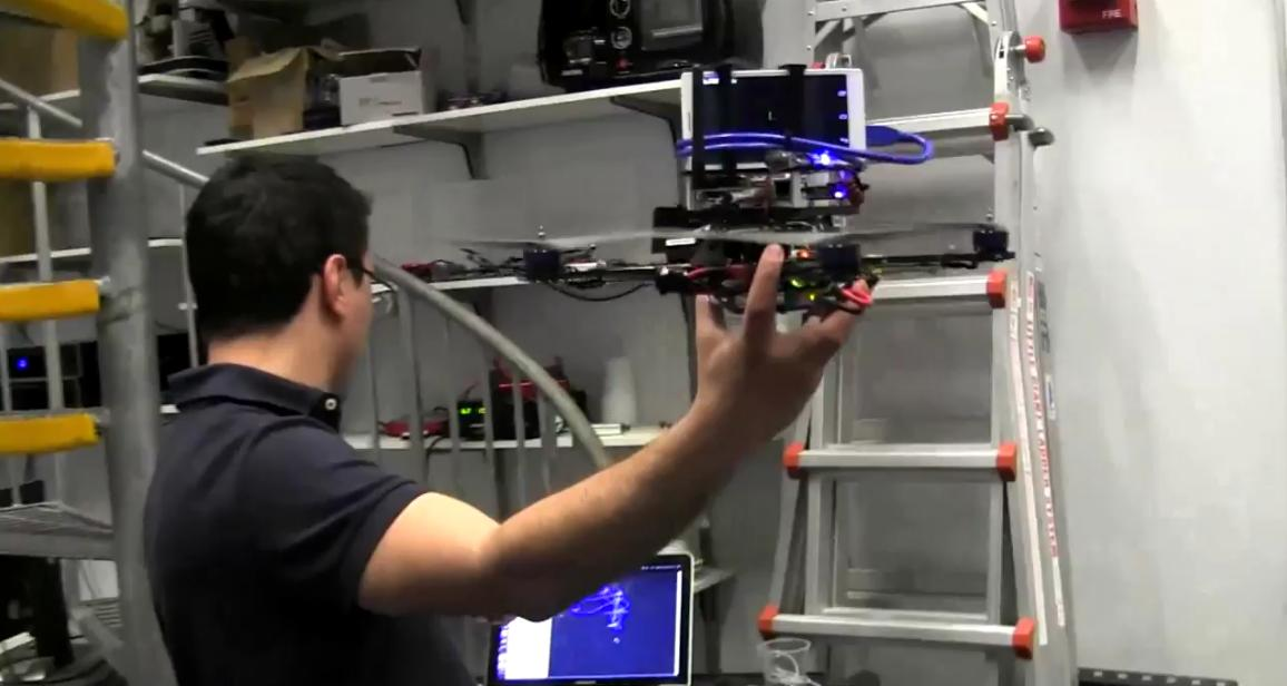 Google's Project Tango lets this simple quadrotor autonomously navigate its environment