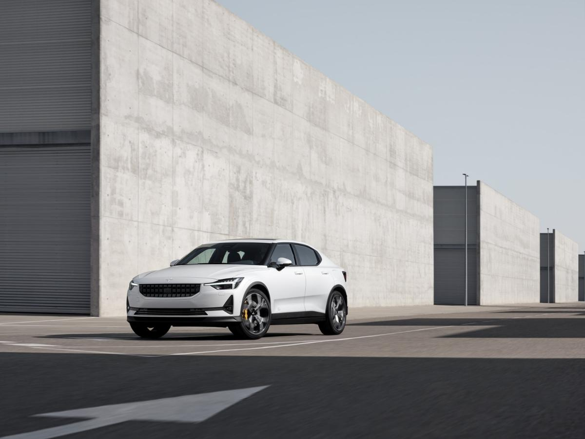 The Polestar 2 puts out 300 kW (408 hp) and 660 Nm (487 lb-ft)