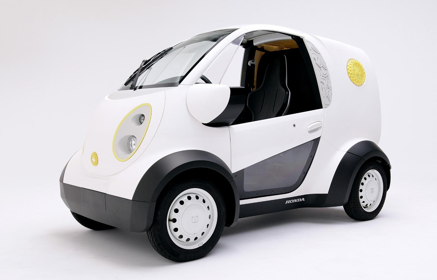 The Micro Commuter delivery vehicle was created for confectionary firm Toshimaya