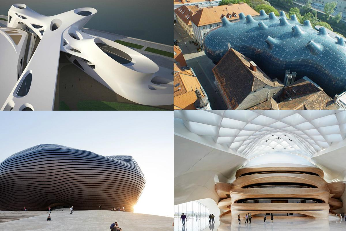 With the influx of new materials and engineering technology, architects have been building some stunning futurist-inspired buildings for the 21st century