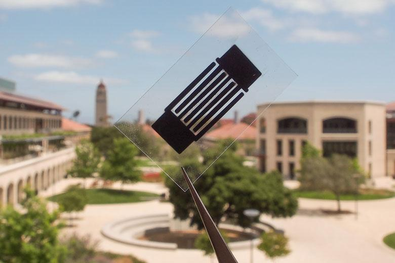 "A supercapacitor boasting a superior power delivery rate thanks to the ""designer carbon"" developed at Stanford University"