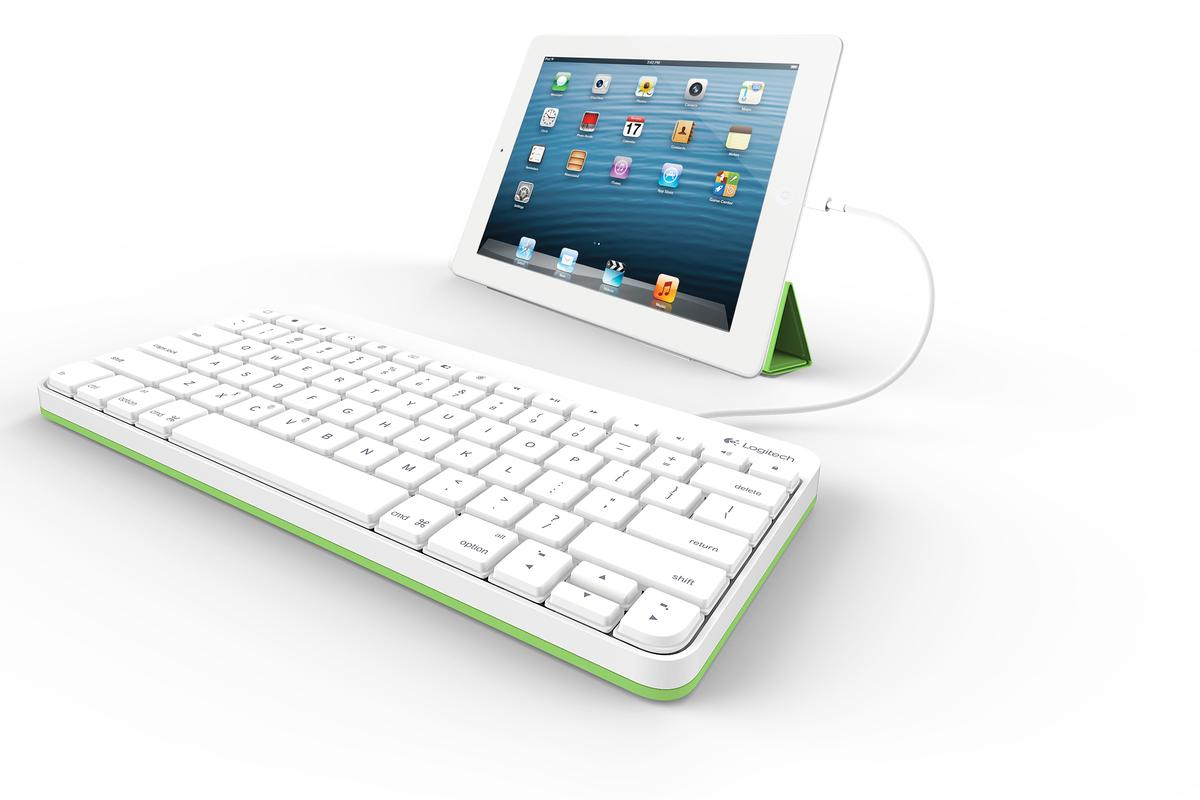 Logitech's new $60 Wired Keyboard for iPad is made with students in mind