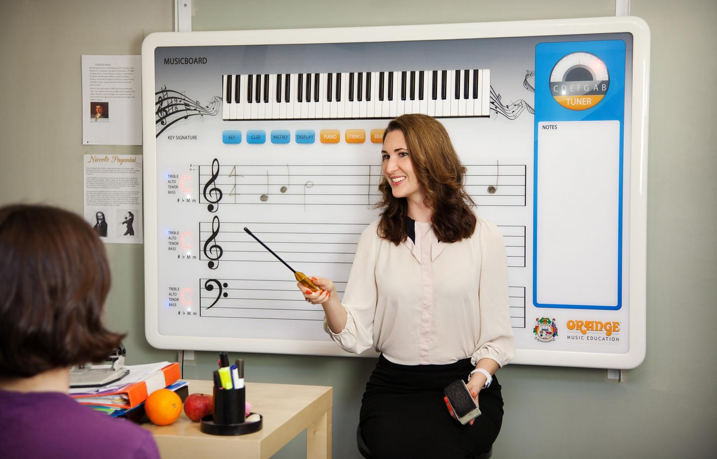 The Musicboard from Orange Music Education
