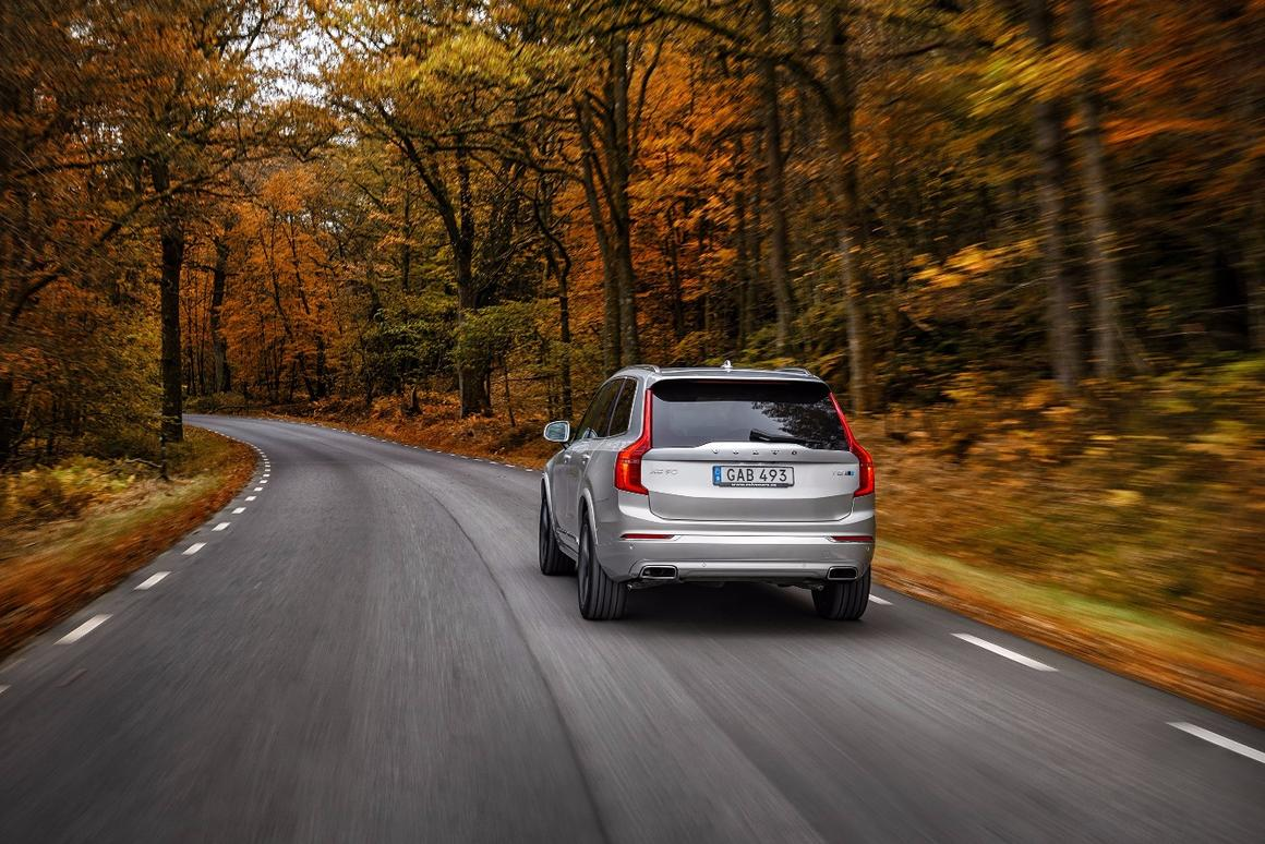 The XC90 T8 Polestar sprints from 0-62 mph in 5.5 seconds, according to Volvo