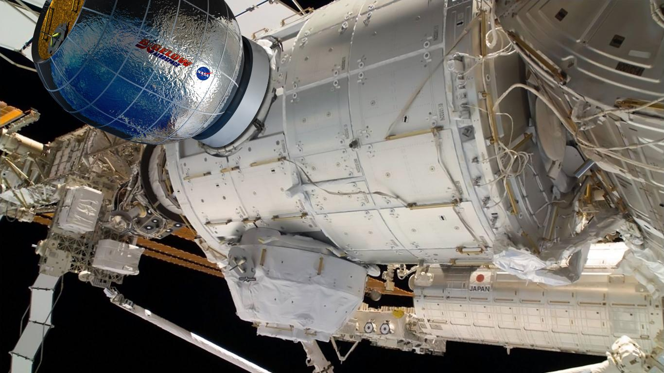 The BEAM will remain attached to the ISS for two years