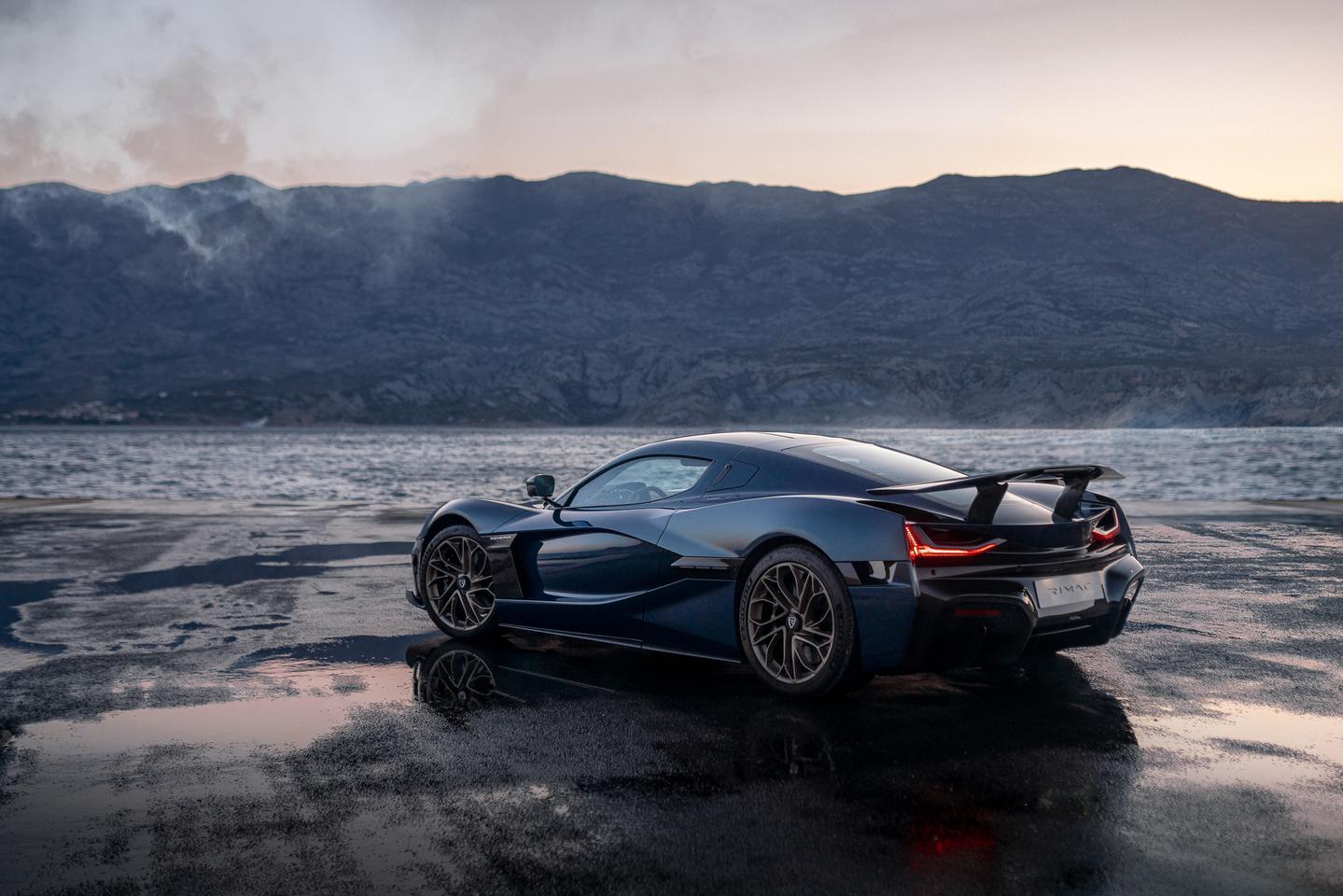 Rimac reveals the 1,914-hp Nevera