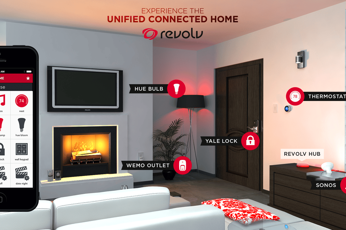 Revolv aims to be the one system and app to rule all home automation devices