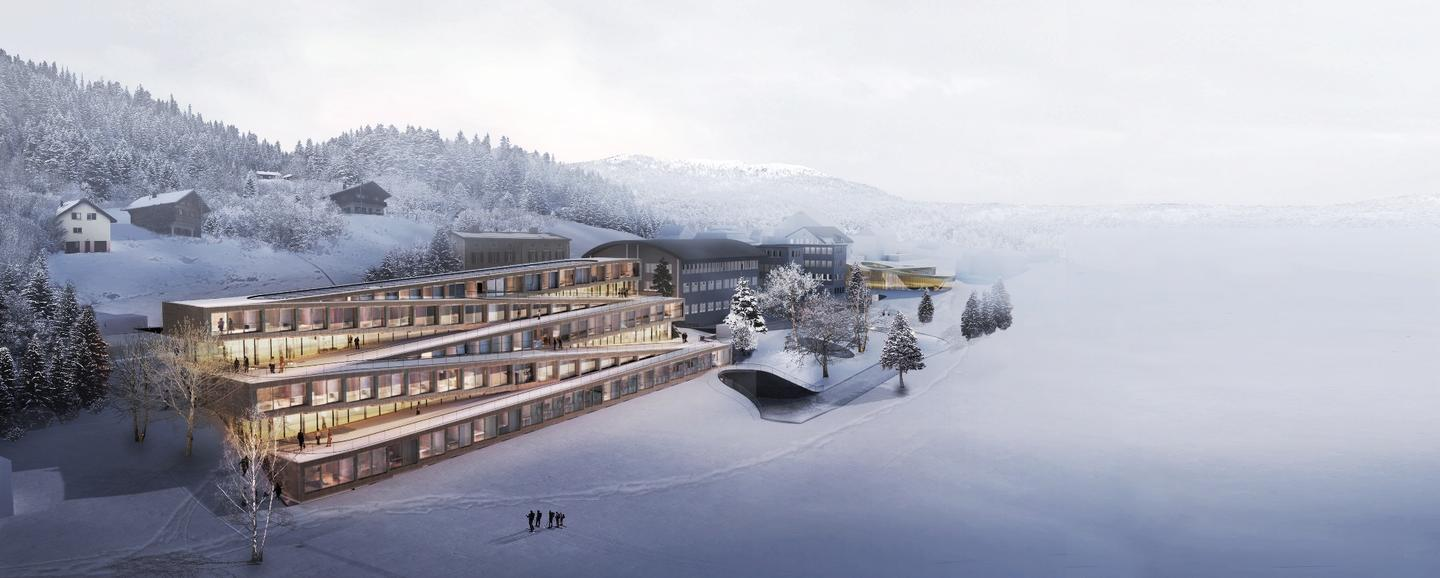 The Audemars Piguet Hôtel des Horlogers is due to be completed in 2020