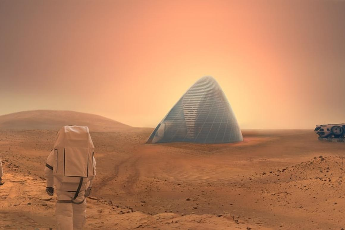 Habitats for the first astronauts to Mars could be 3D printed, by extracting and refining metals from the soil