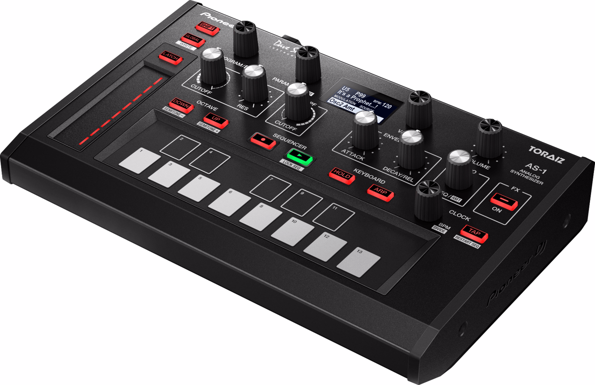 The Toraiz AS-1 analog synth from Pioneer DJ and Dave Smith Instruments