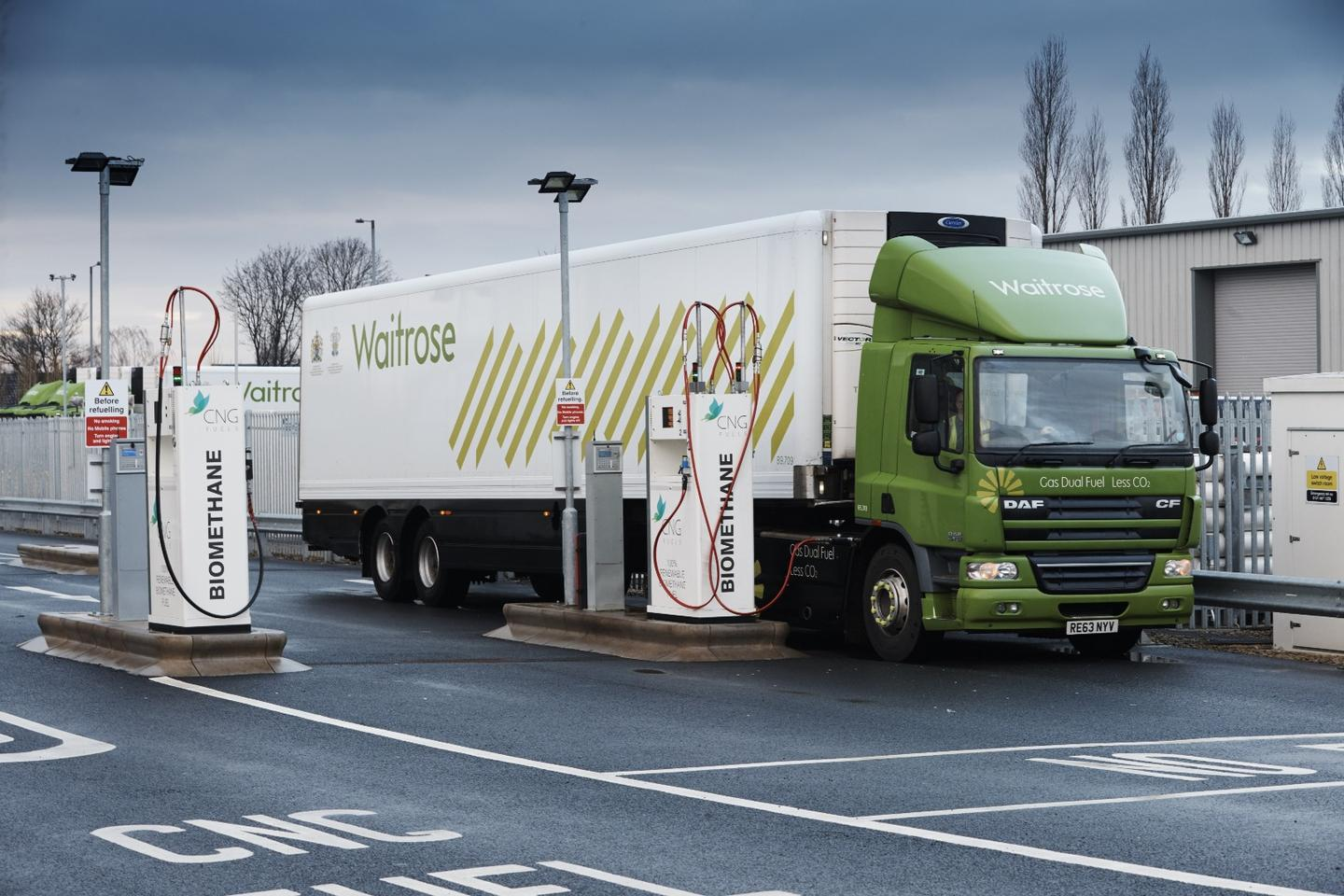 Waitrose and Scania see if CNG trucks can go the distance