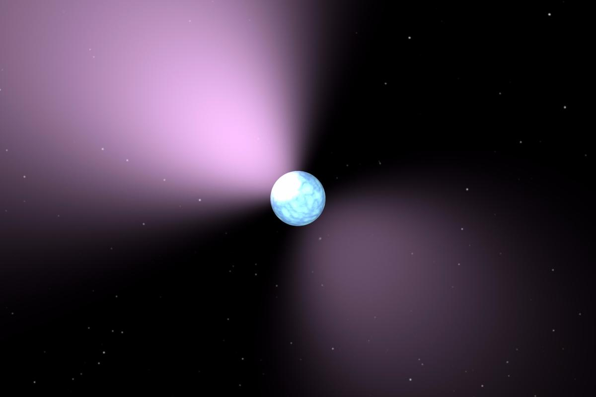 The regularity of a pulsar's electromagnetic signalscan be used to detect lower frequencygravitational waves, caused by collisions between supermassive black holes