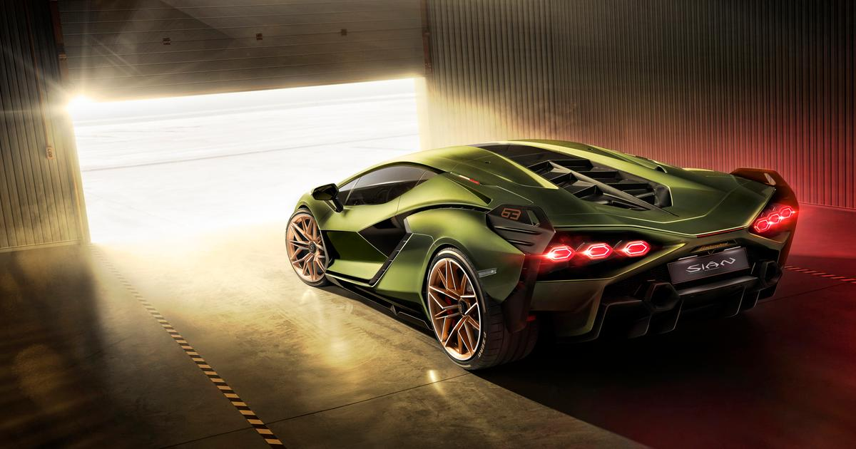 Lamborghini Sián: The world's first supercapacitor-hybrid supercar