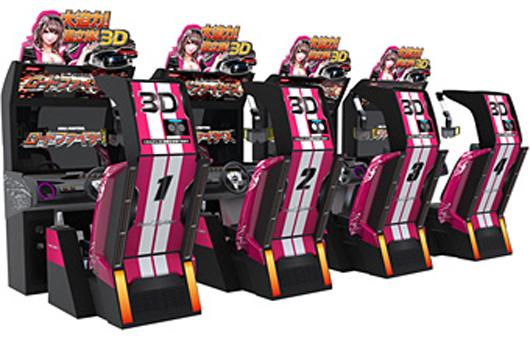 3D racing hits arcades with Road Fighters from Konami