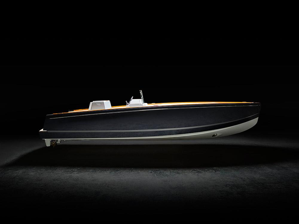 The Hinckley Dasher is being touted as the world's first all-electric luxury yacht