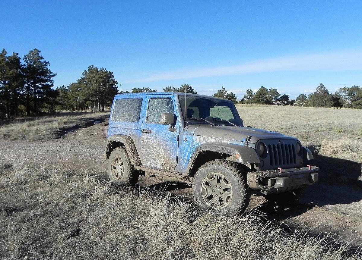 The Wrangler Rubicon is a rugged SUV in every sense of the term