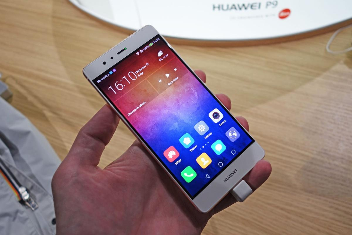 Huawei's new flagship, the P9, has been unveiled in London