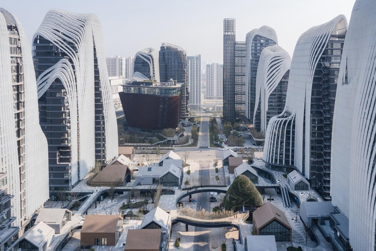 The Nanjing Zendai Himalayas Center is currently under construction and is expected to be completed in 2020