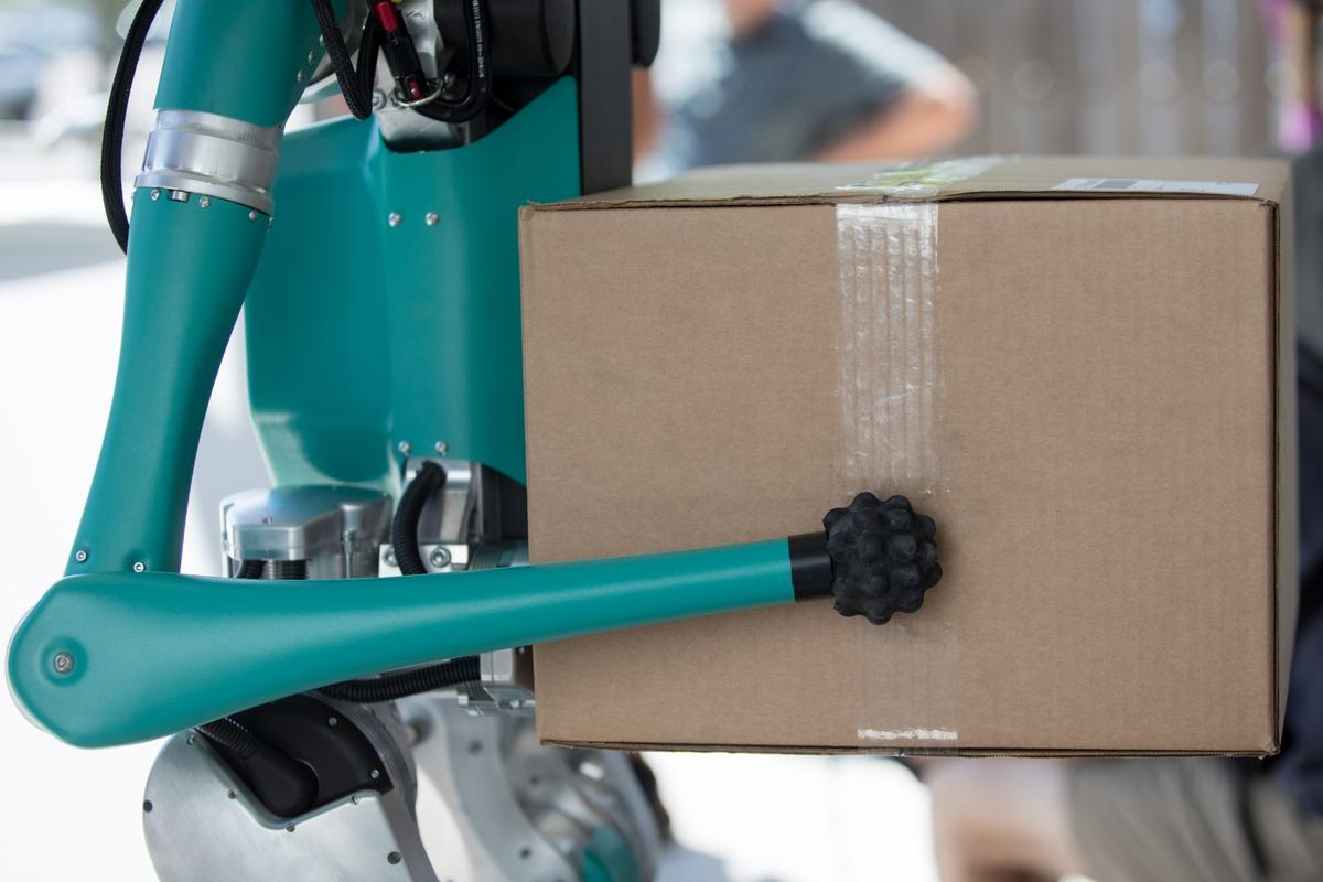 Digit can transport packages weighing up to 40 lb
