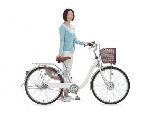 Sanyo's eneloop electric hybrid bicycle
